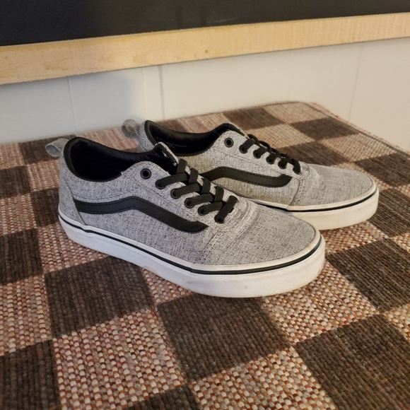 Vans Shoes   Black And Gray Kids   Poshmark